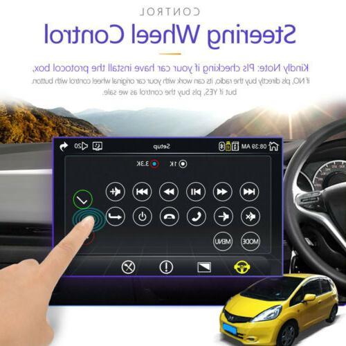 Single 1 Din Car Touch Screen BT