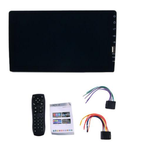 """Single 1 Din 9"""" Car FM/USB/AUX MP5 Player Touch BT"""