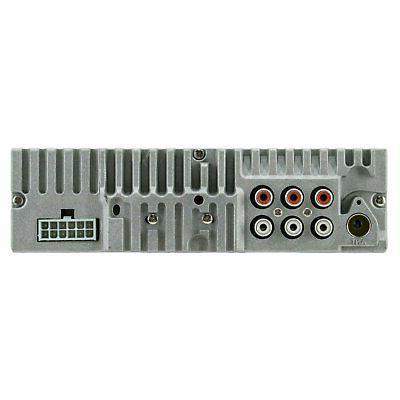 SoundXtreme Single-DIN Stereo Bluetooth, & Aux Audio