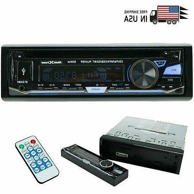 single din cd car stereo bluetooth usb