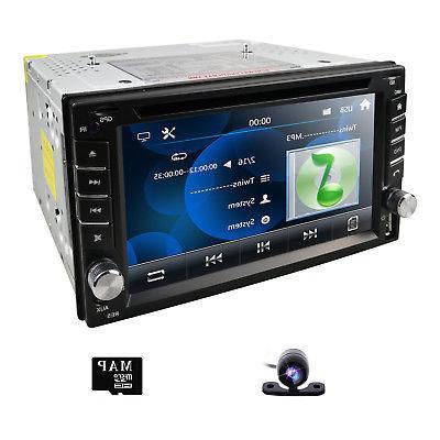 Sony 2Din In Dash DVD Player Radio iPod