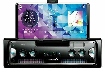 PIONEER CARPLAY ANDROID AUTO CAR STEREO BLUETOOTH USB