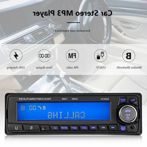 "4.1/"" BT 4.2 IN Dash Car HD Radio Stereo MP5 Player 1 DIN AUX FM Audio"