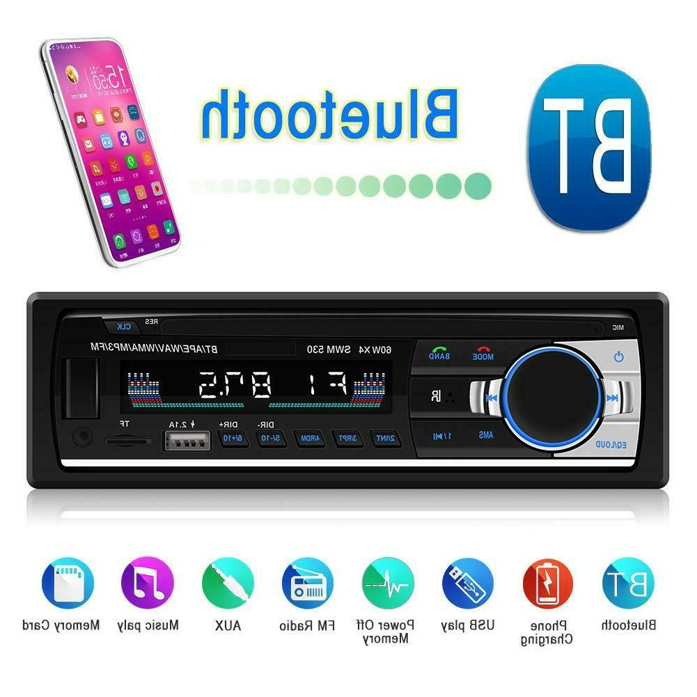SWM530 LCD Bluetooth4.0 Car Stereo MP3 Audio Player Support