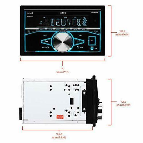 BOSS Multimedia Car Double Din, Bluetooth