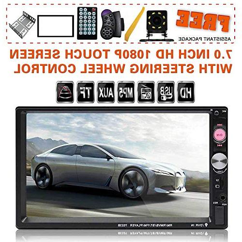 upgraded double din touch car