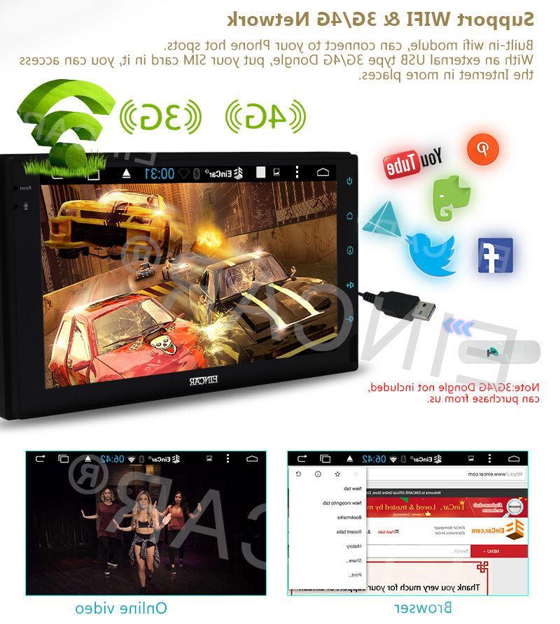 "US Eincar System 7"" Stereo Navi MP3"