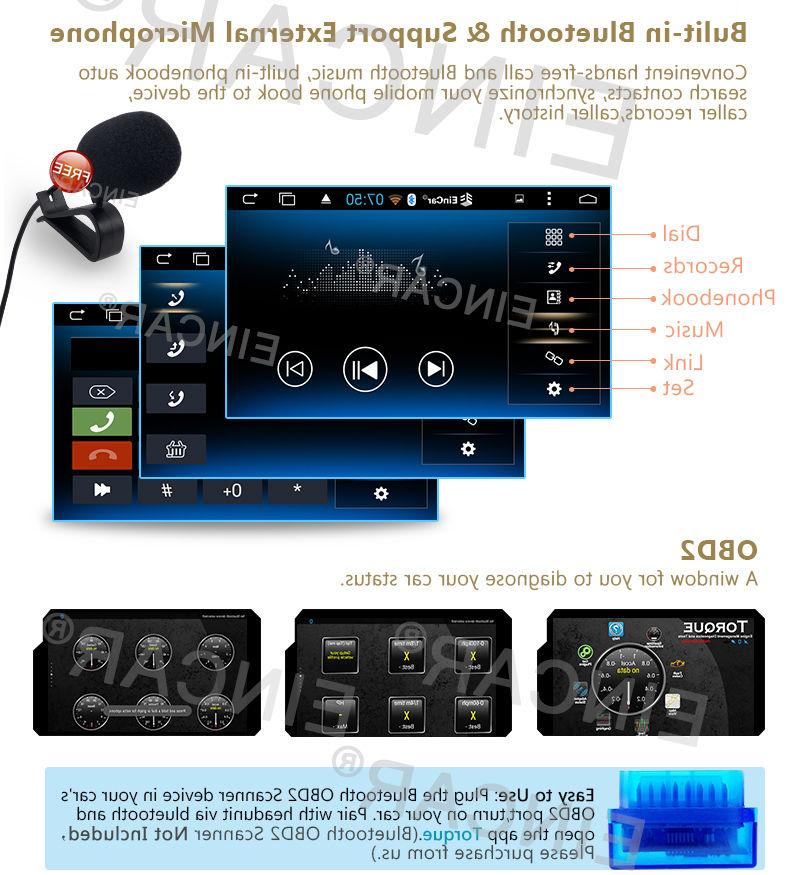 US Eincar Android 6.0 System Stereo GPS Navi