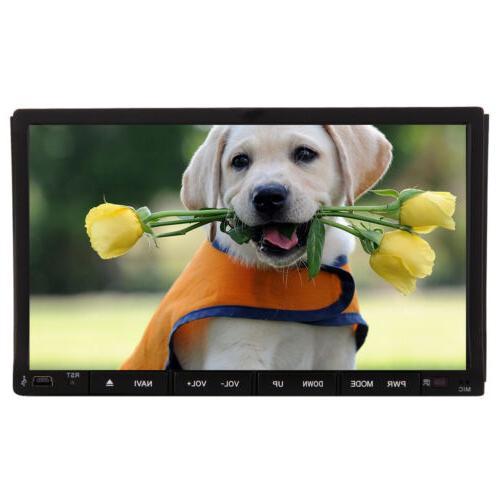 "US Audio DIN 6.2"" Car DVD MP3 Bluetooth Stereo"