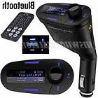 Wireless Bluetooth Car Kit FM Transmitter LCD MP3 Stereo Pla