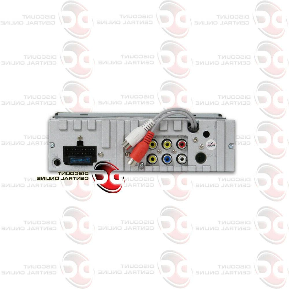 """SOUNDSTREAM 1-DIN DVD CD BLUETOOTH WITH MOTORIZED 7"""""""