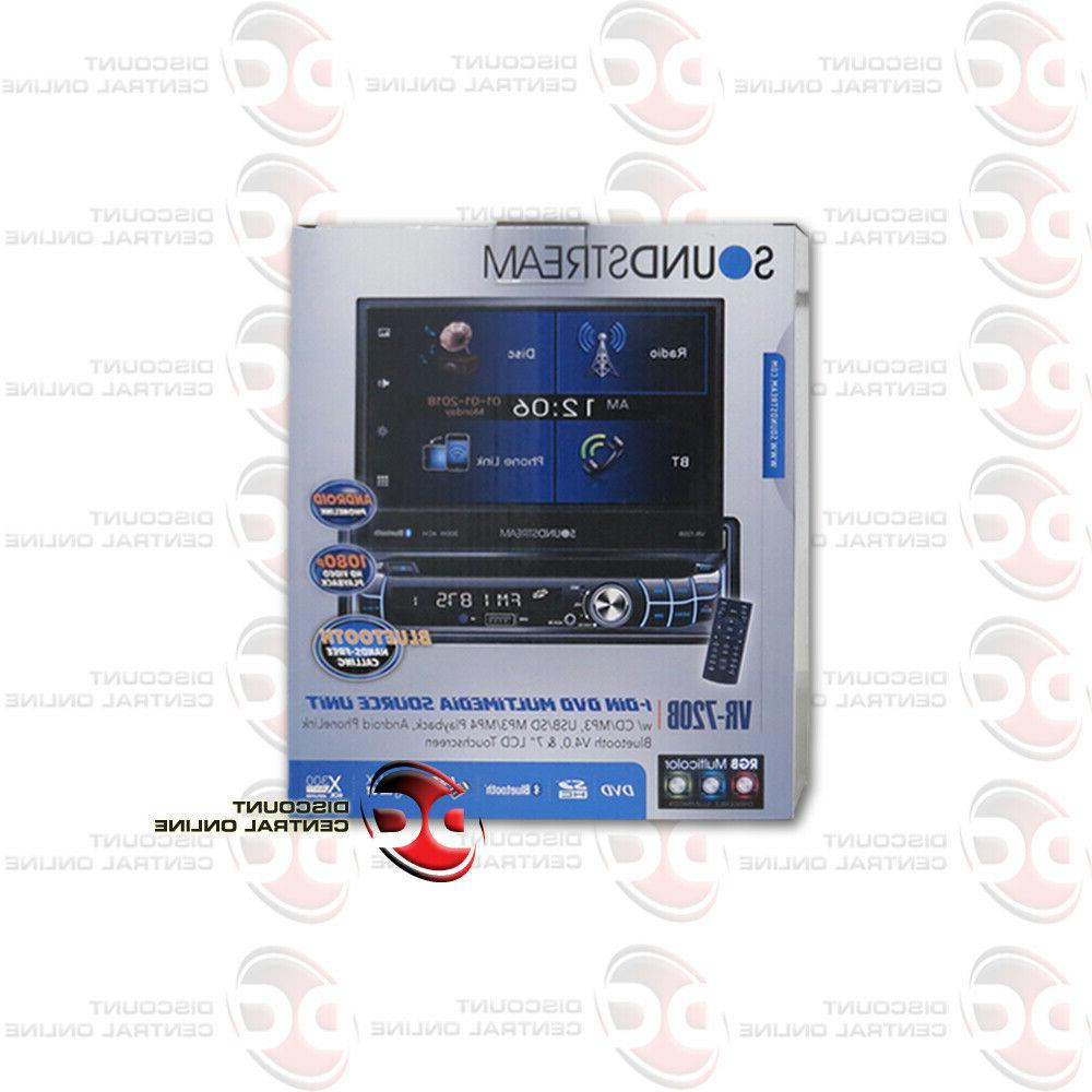 SOUNDSTREAM CD BLUETOOTH CAR STEREO WITH