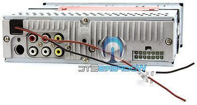 "SOUNDSTREAM 3.4"" BLUETOOTH CD DVD USB STEREO"