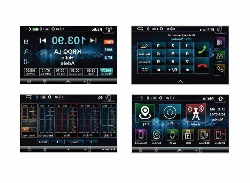 Soundstream VRN-DD7HB Displays w/ GPS/Nav/DVD/Bluetooth