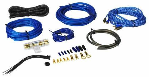 Rockville RWK81 8 Gauge Complete Amp Installation Wire Kit w