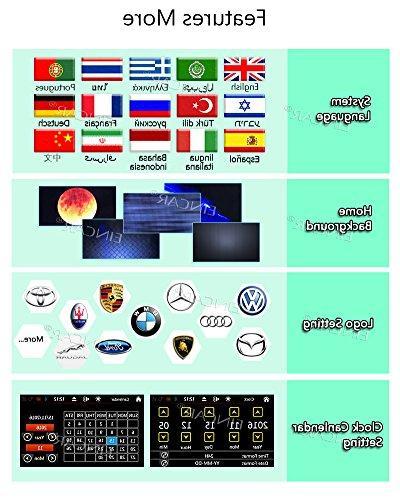 Wireless DVD Player in Dash GPS Navigation Din Autoradio Bluetooth FM/AM Radio Tuner Car Video Head SD Win 8