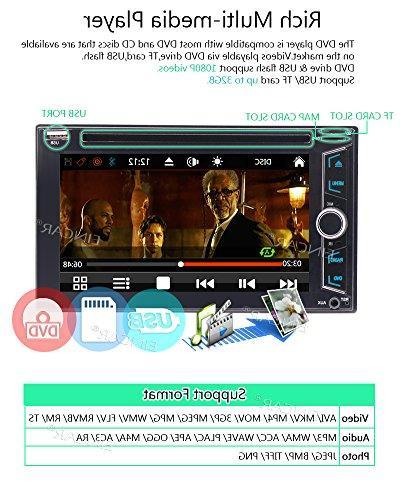 Wireless Rear EinCar Din DVD Player in Dash GPS Navigation 2 Autoradio Bluetooth FM/AM Video System Automotive Head Unit SD Win 8