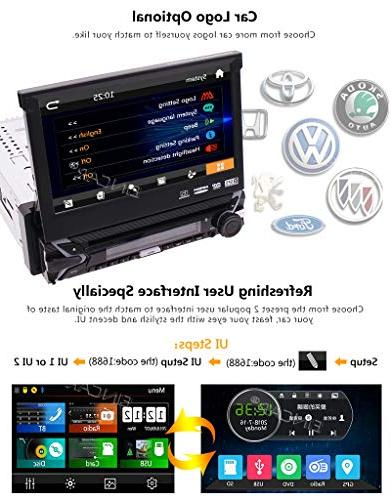 EINCAR Free Included! inch Capacitive System Car Stereo DVD Support