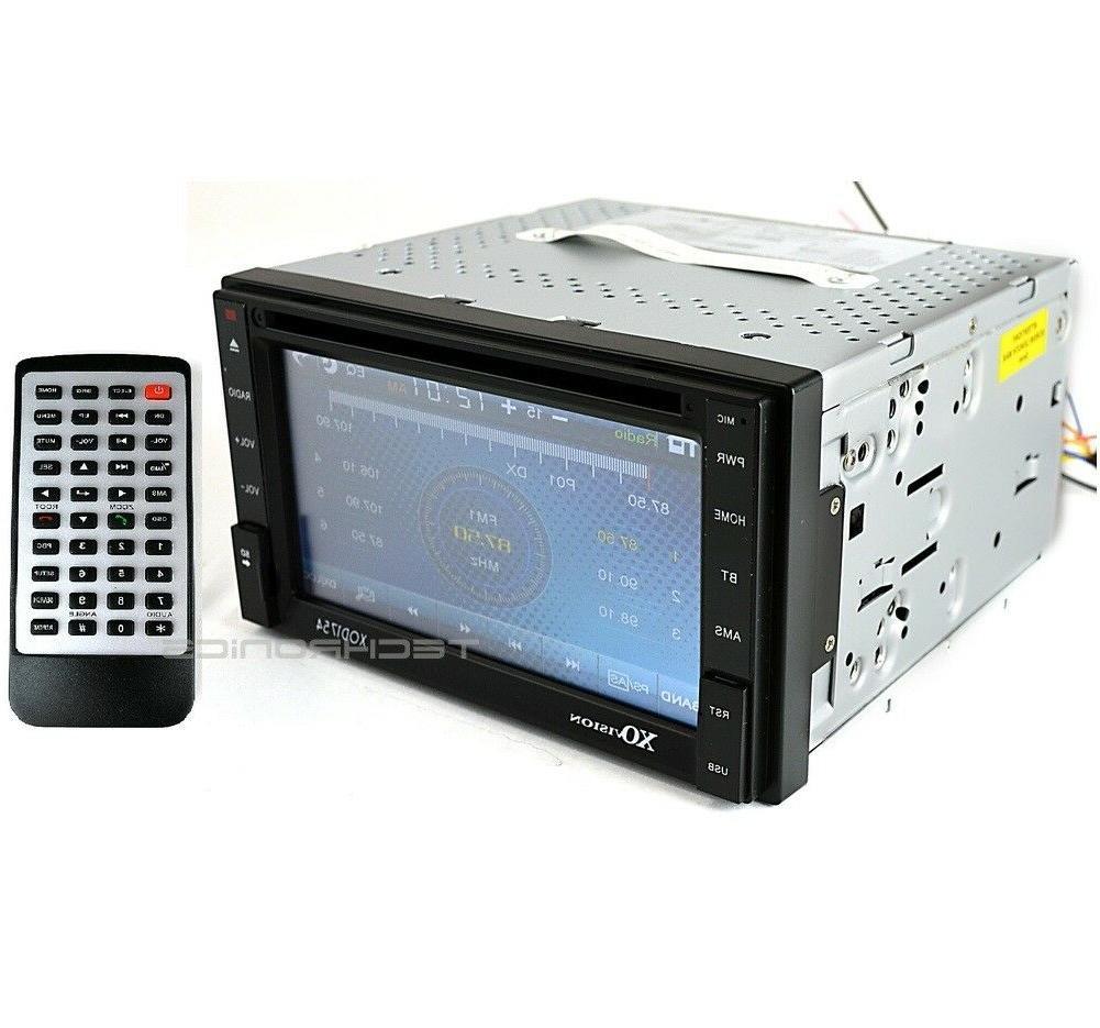 XOVision XOD1752BT Car DVD Player - 6.2 Touchscreen LCD - Do