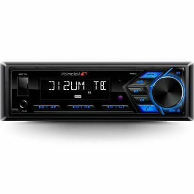 NAKAMICHI 1-DIN USB AUX Stereo Receiver