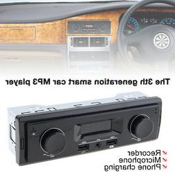 LED Display Vehicle Stereo Audio Car Radio MP3 Player In-Das