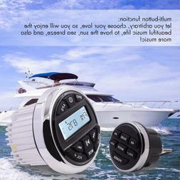 Marine Boat AM/FM Radio Bluetooth Stereo Car Audio Music Rec
