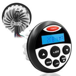 Marine Radio Bluetooth Stereo Audio Gauge Style FM MP3 Recei