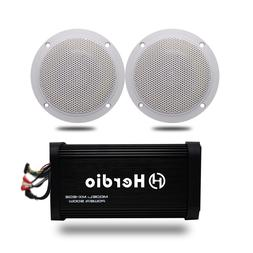 Motorcycle <font><b>Marine</b></font> Bluetooth Audio Amplif