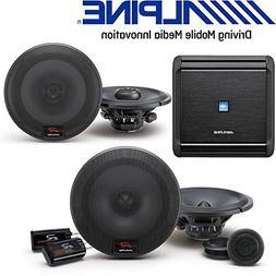 Alpine MRV-F300 4-Channel Car Amplifier, 50 Watts RMS x 4 W/