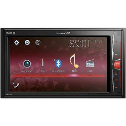 """Pioneer MVH-210EX 6.2"""" Double DIN In-Dash Car Stereo Multime"""