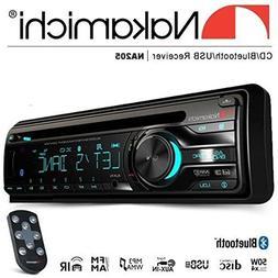 New NAKAMICHI NA205 Bluetooth Single DIN CD USB AUX Car Radi