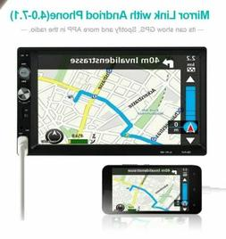 """New 2DIN 7"""" Touch Screen Car MP5 Player Bluetooth Stereo FM"""