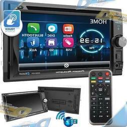 "NEW POWER ACOUSTIK6.2"" 2-DIN In-Dash Touchscreen DVD/CD Ca"
