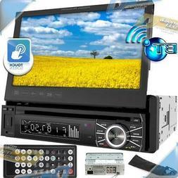 "NEW POWER ACOUSTIK7""In-Dash Touchscreen DVD/CD/USB Car Ste"