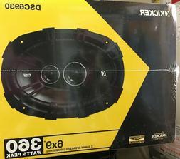 "NEW Kicker DSC6930 6"" x 9"" 360W DS Series 3-Way Coaxial Car"