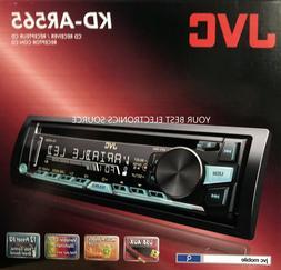 NEW JVC KD-AR565 Single DIN In-Dash CD/AM/FM Car Stereo Rece