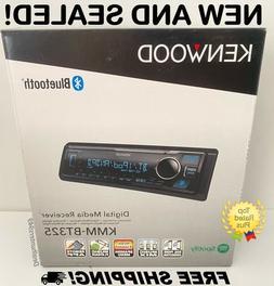 New! Kenwood KMM-BT325 In-Dash Radio Head Unit Bluetooth Car