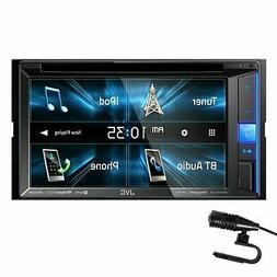 "NEW JVC KW-V25BT 6.2"" Touchscreen Double Din BLUETOOTH DVD P"