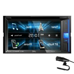 "NEW JVC KW-V25BT 6.2"" Touchscreen Double Din BLUETOOTH DVD P"