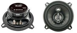 """NEW Lanzar MX53 5-1/4"""" Max Series 3-Way Coaxial 5.25"""" Car St"""