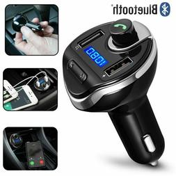 New Wireless Bluetooth Full FM Transmitter Car Kit Stereo Mp