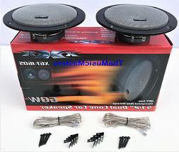 "Pair 6"" inch Thin Mount Car Audio Stereo Radio Sound Speaker"
