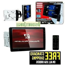 POWER ACOUSTIK PD-1060HB CAR 2DIN DVD CD BLUETOOTH STEREO W/