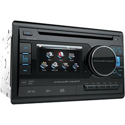 Power Acoustik PD 342 Double-DIN In-Dash LCD Touchscreen DVD