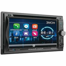 Power Acoustik PD-625B 2-DIN DVD Bluetooth In-Dash Receiver