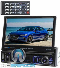 Power Acoustik PD-721B Single DIN Bluetooth DVD Car Stereo w