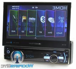 Power Acoustik PD-724HB 7 Flip up multimedia unit w/DVD/BT a