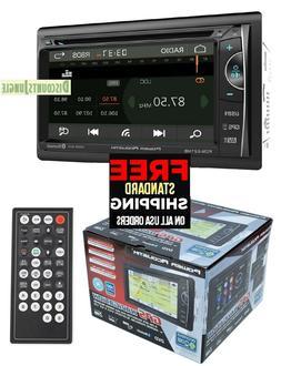 "POWER ACOUSTIK PDN-621HB 6.2"" CD DVD GPS BLUETOOTH USB AUX N"