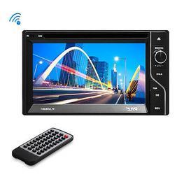 Pyle PLDN63BT Car DVD Player - 6.5 Touchscreen LCD - 16:9 -
