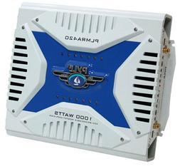 Pyle Hydra Marine Amplifier - Upgraded Elite Series 1000 Wat